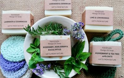 Introducing our NEW health range of 100% natural soaps, soap bags, scrubbies and soap dishes